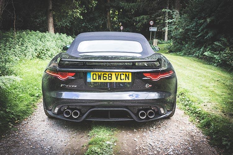Jaguar F-Type SVR - Convertible Lifestyle Review