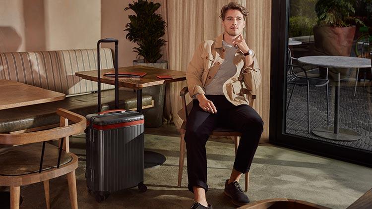 Carl Friedrik - Luxury Travel Carry- On - Men Style Fashion