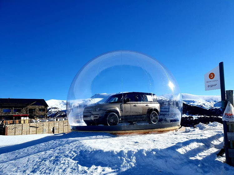 Land Rover Experience - Snow Perform
