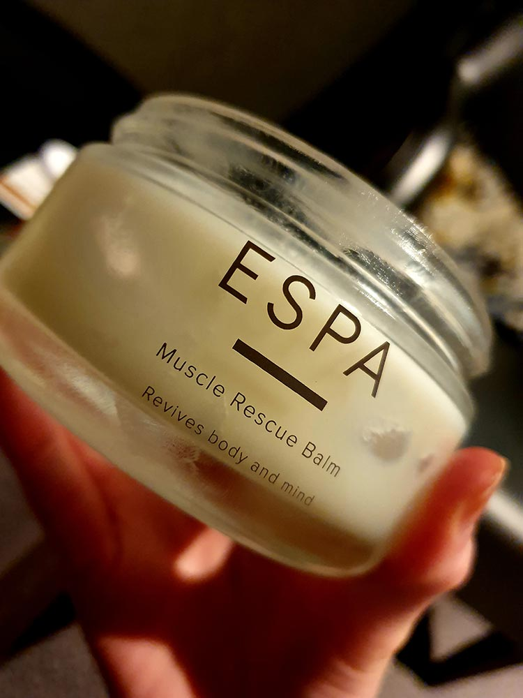 ESPA Muscle Rescue Balm Mallory Court Country House Hotel & Spa Elan Spa Orchard House