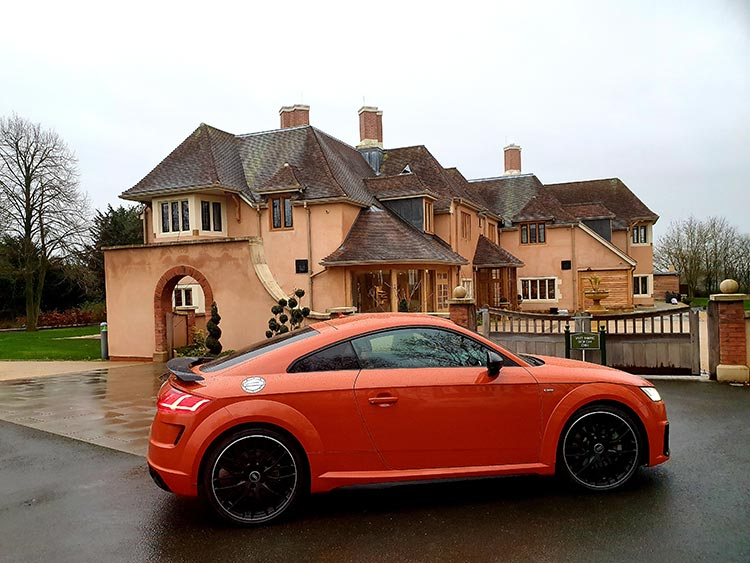 Mallory Court Country House Hotel & Spa Elan Spa Audi TT Orchard House