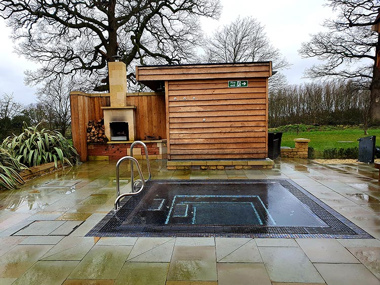 Mallory Court Country House Hotel & Spa Elan Spa outdoor jacuzzi