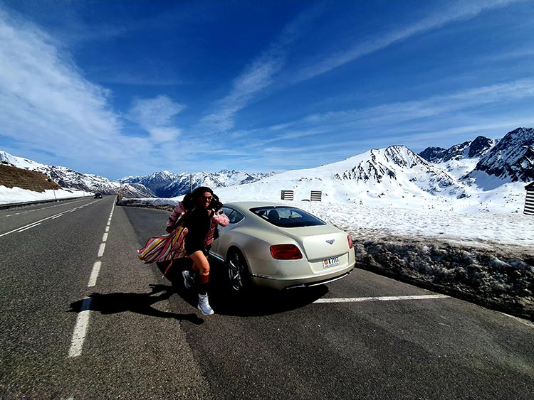 Gracie Opulanza Bentley GT Andorra 2020 Mountain Lifestyle (6) andorra