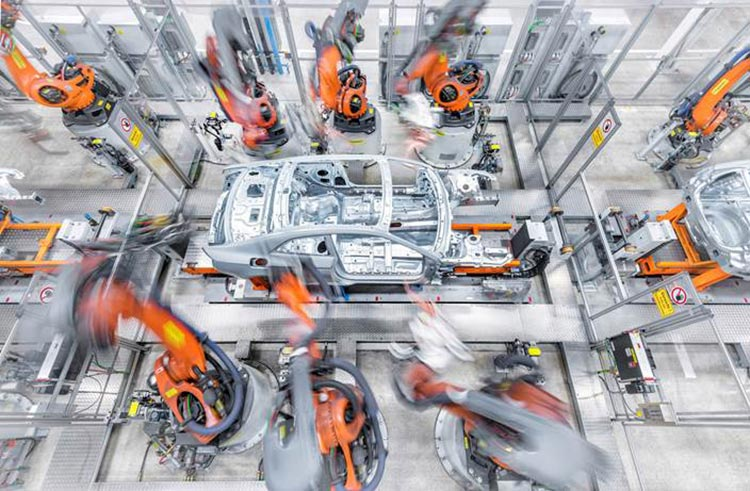 virtual tour of the Audi factory in Ingolstadt, Germany