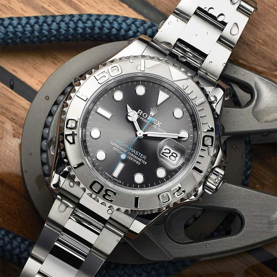 Rolex yacht master watch