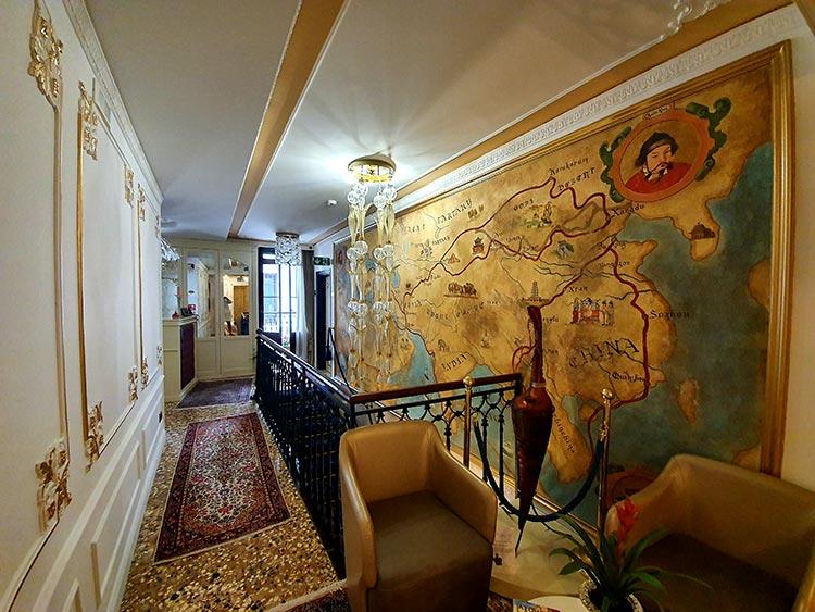 Ego Boutique Hotel venice Grand Canal Rialto bridge 2020 (5) silk road map