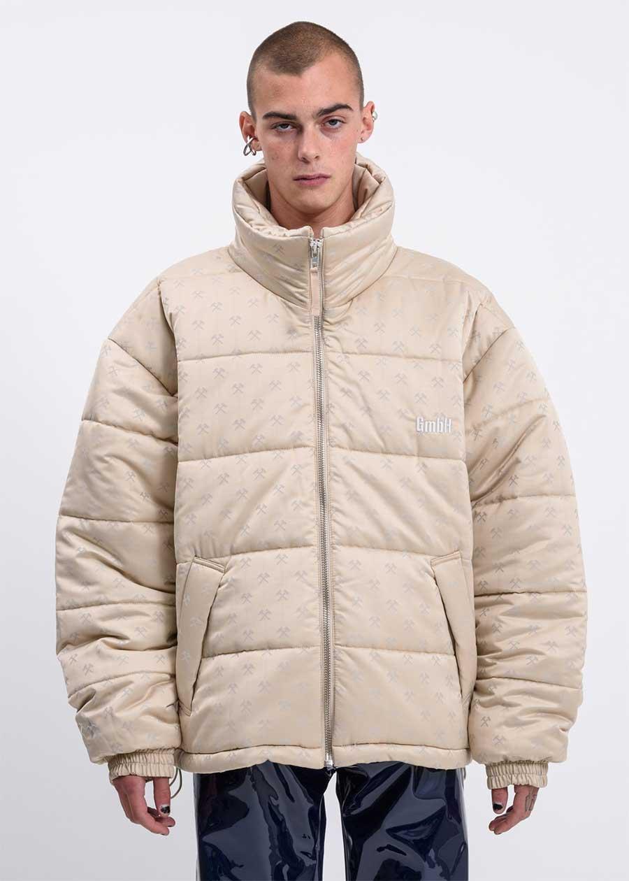 GMBH oversized puffer jacket for men