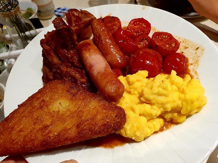 english breakfast Hilton Molino Stucky Venice