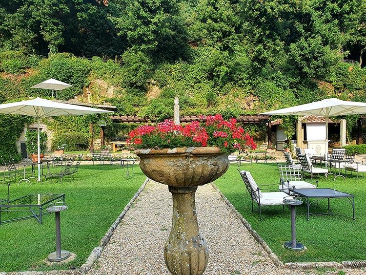 Belmond San Michele Florence Italy gardens