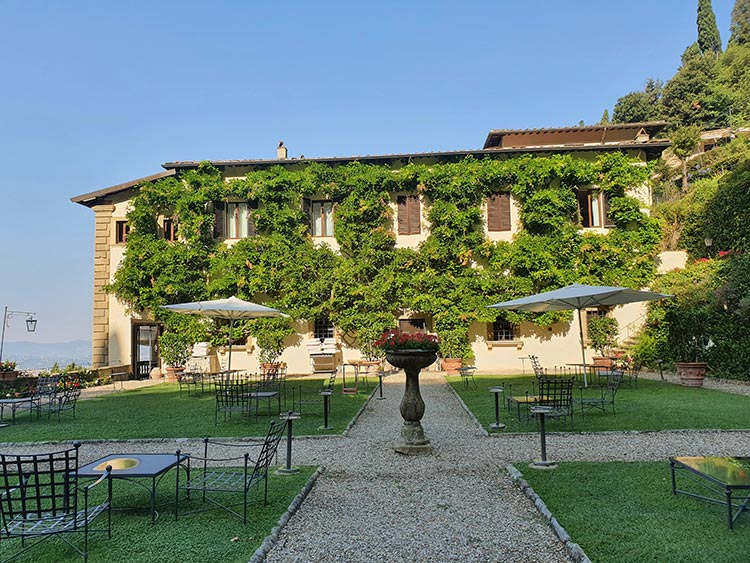 Belmond San Michele Florence - Swimming Pool & Food Review