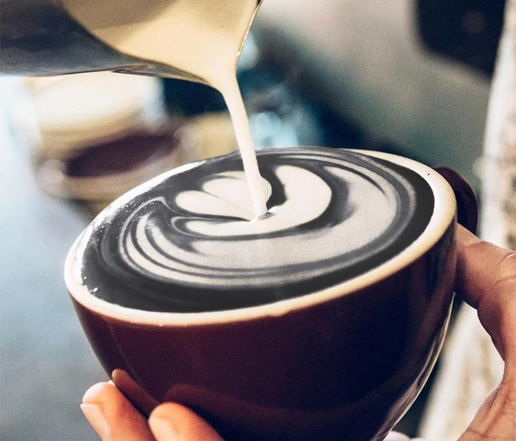 Black Latte With Charcoal