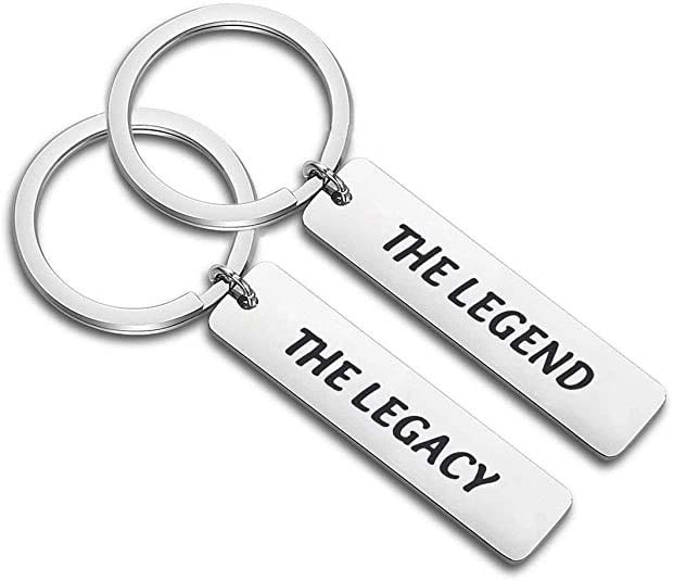 The Legend The Legacy Keychain