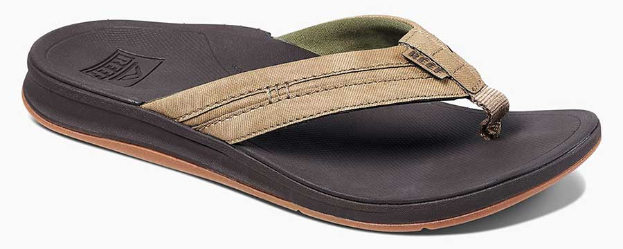 Reef Ortho Coast Brown Sandal