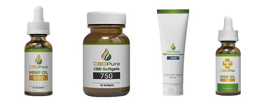 CBDPuree products