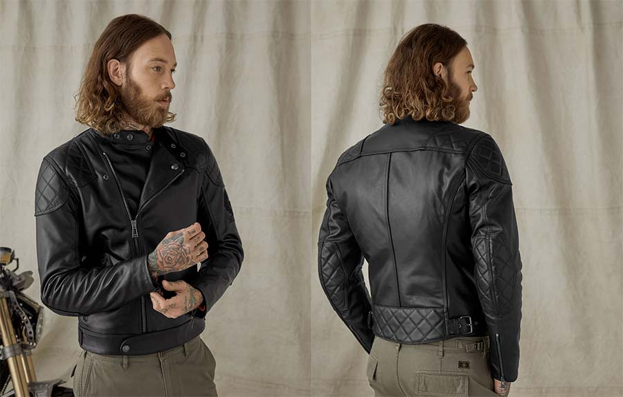 Ivy Leather Jacket Belstaff