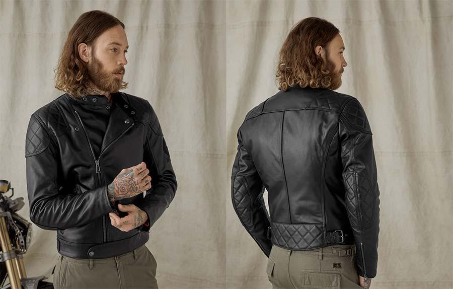 Ivy Leather Jacket Belstaff