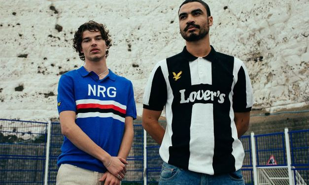 Lyle & Scott X Lovers FC – 80s Inspired Football Shirt Collaboration