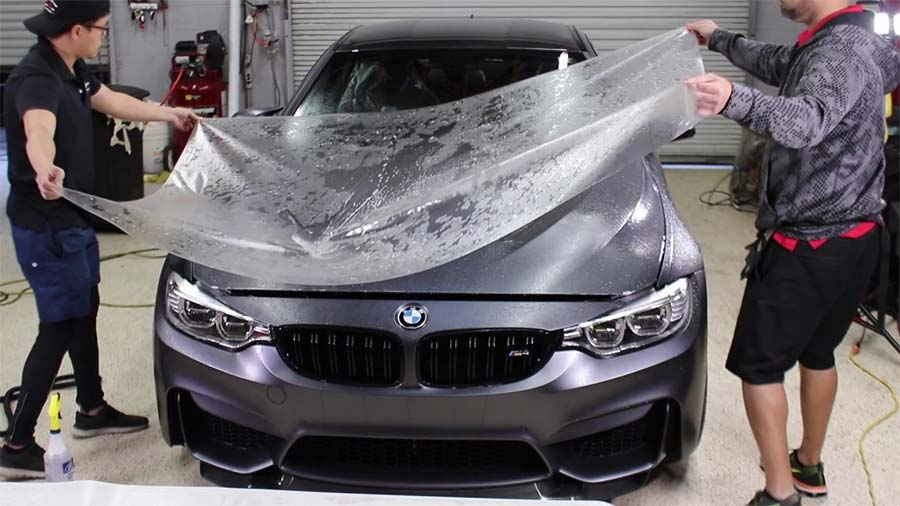 Paint protection film BMW