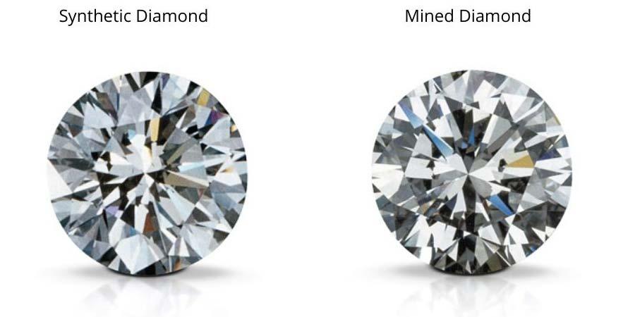 synthetic diamond vs Mined Diamonds
