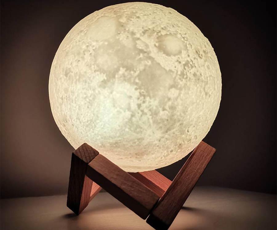 3D Moon Lamp - Cadeau Maestro