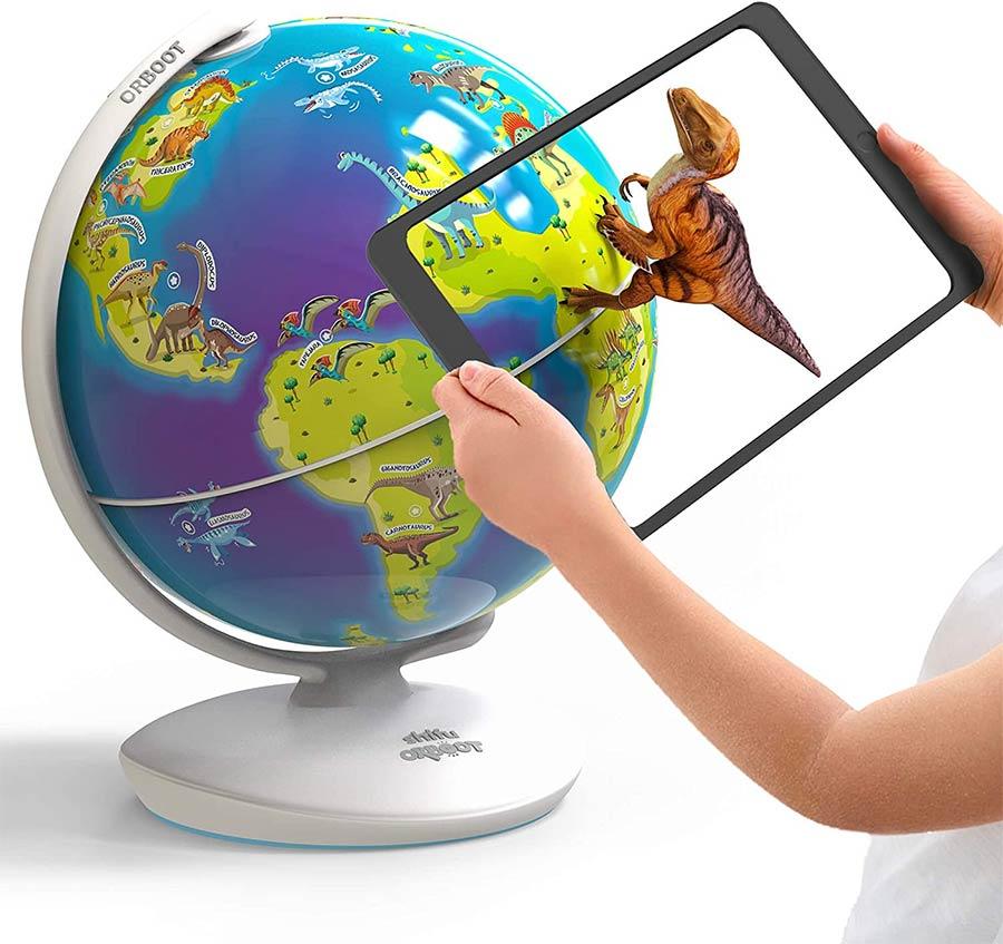 Orboot Dinos AR globe by PlayShifu