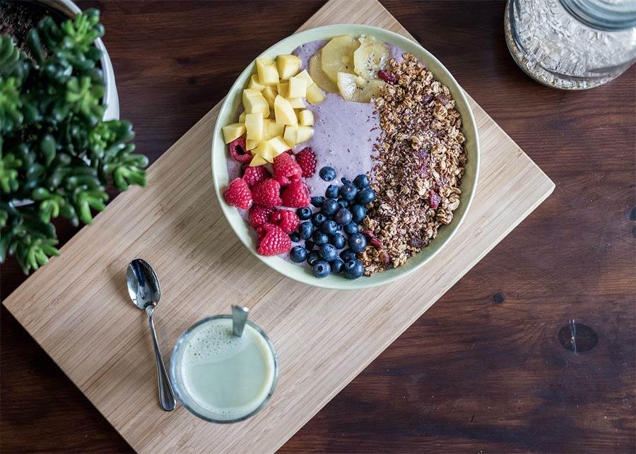 eat healthy - fruit bowl