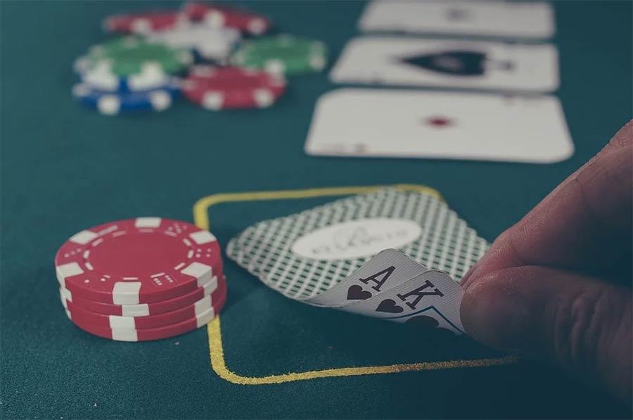 Playing black jack