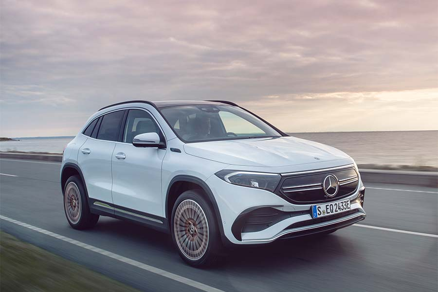 Mercedes EQA Entry Level Electric Car In Compact Format