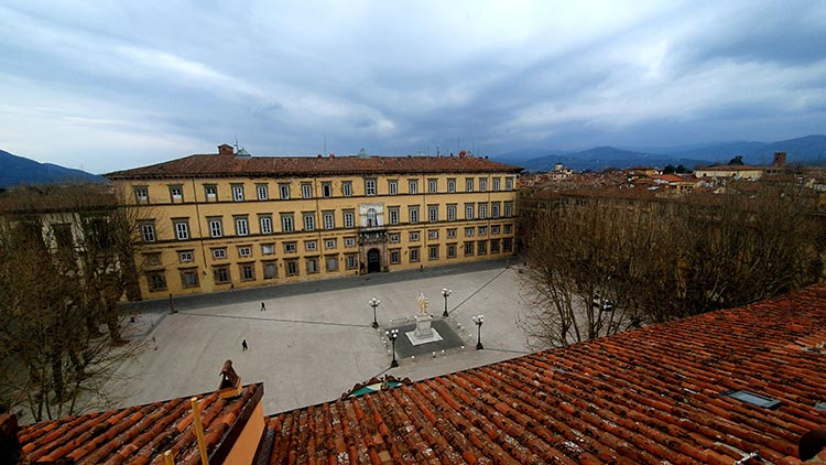 Grand Universe Lucca - Autograph Collection Reviewed roof top bar summer festival view
