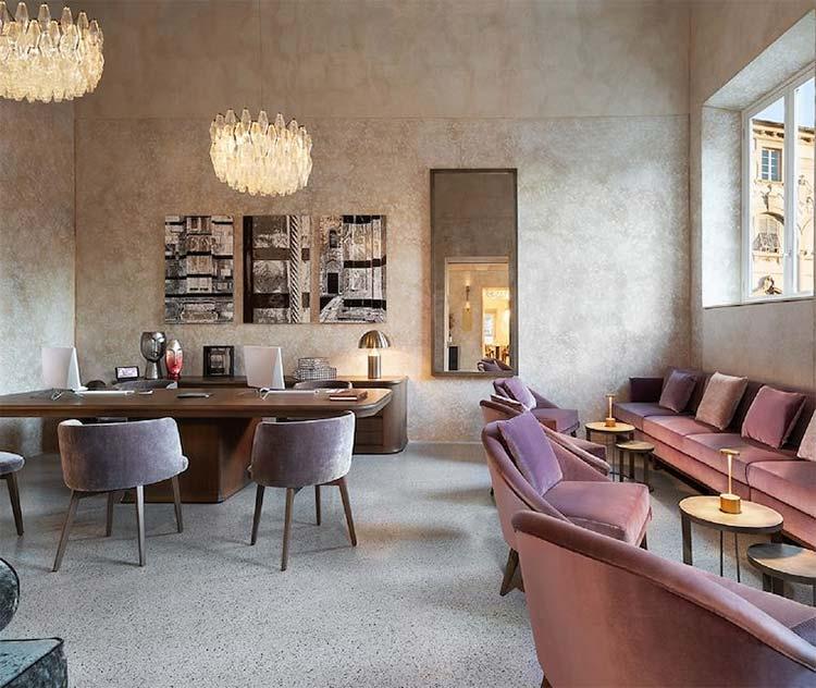 Grand Universe Lucca Reception Area