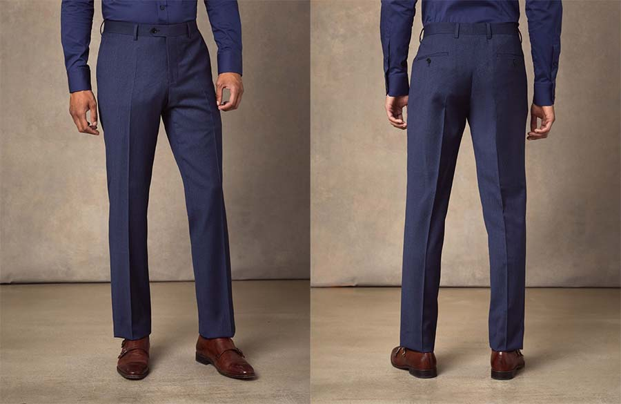 Hawes and Curtis suit trousers