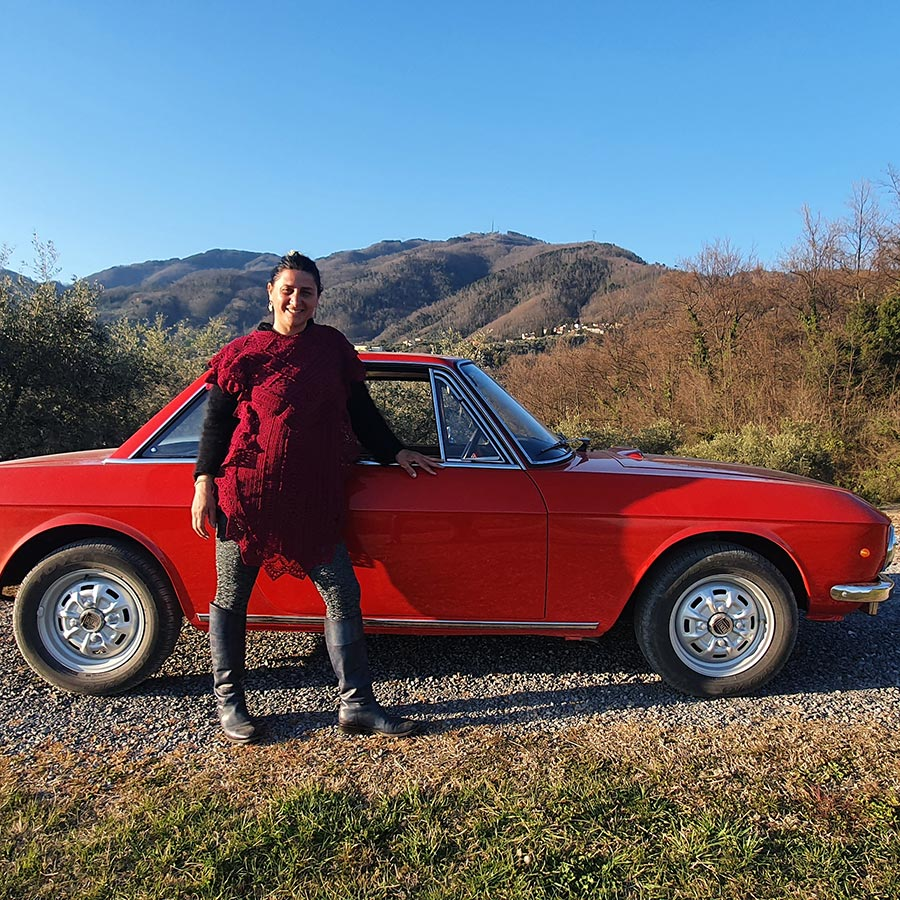The Lancia Fulvia Italy's Most Elegant Classic Gracie Opulanza Tuscany Italy