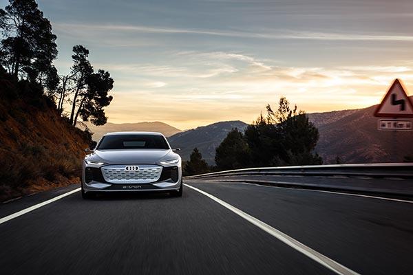 Audi A6 e-tron concept car