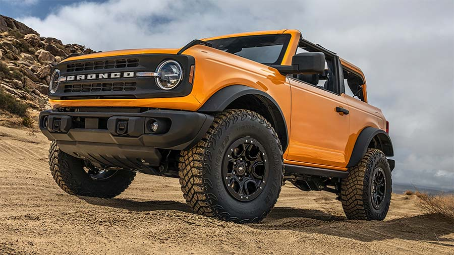 Beadlock Capable Wheels Bronco