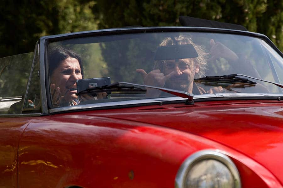 Spider 124 Classic Car italy Gracie Opulanza