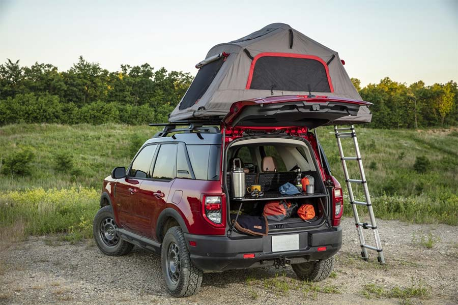 Yakima Rooftop Tents bronco