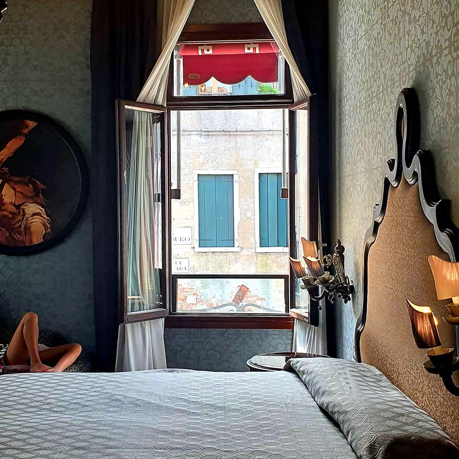 delux Room Hotel Palazzetto Madonna Venice - Reviewed
