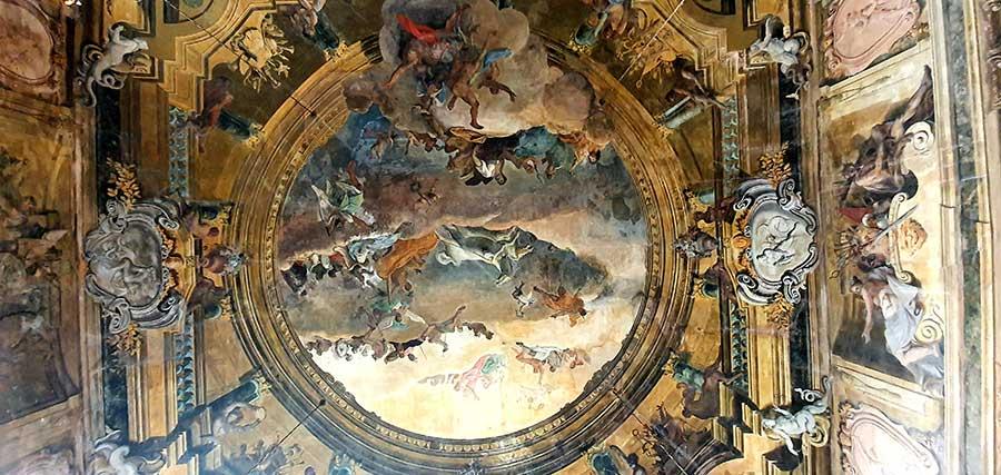 fresco Ca'-Sagredo-Hotel Ballroom Venice