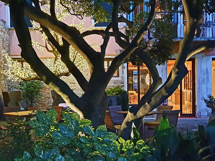 garden Palazzo Heureka Reception Hotel Venice