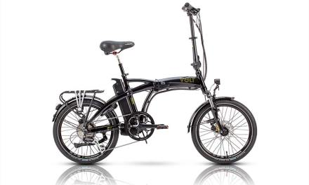 The Folding Electric Scooter Bike