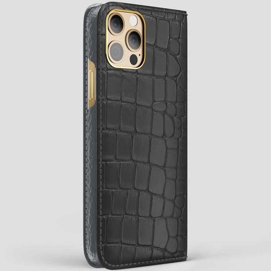 iPhone 12 Pro Max Folio Case Alligator