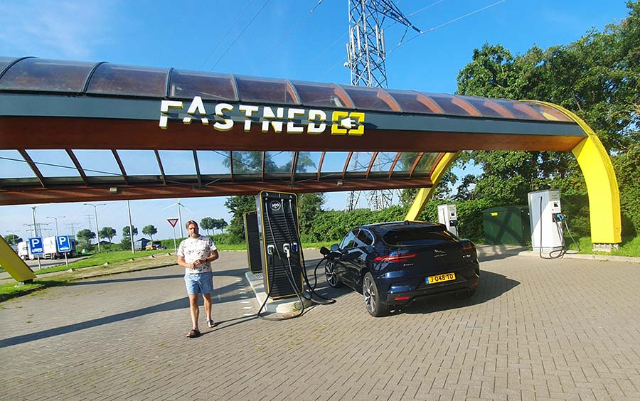 Fastned Holland IPACE Jaguar