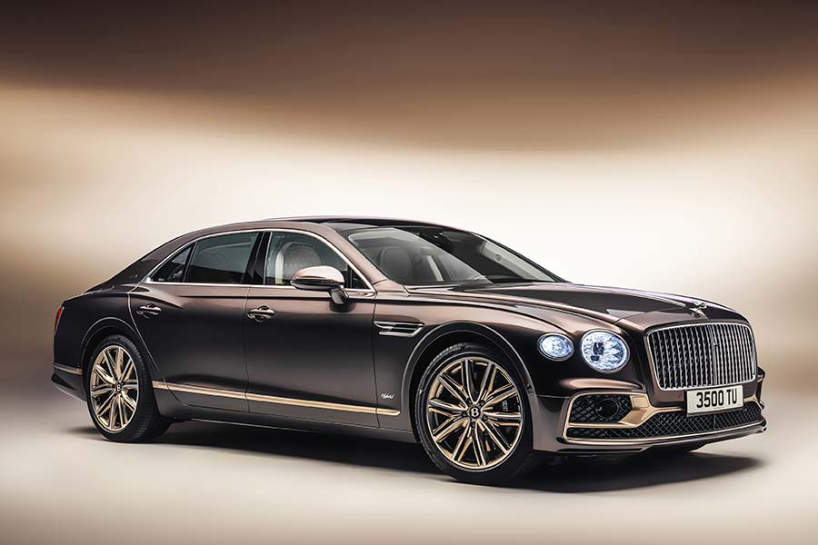Flying Spur Hybrid Odyssean edition – A glimpse into Bentley's future