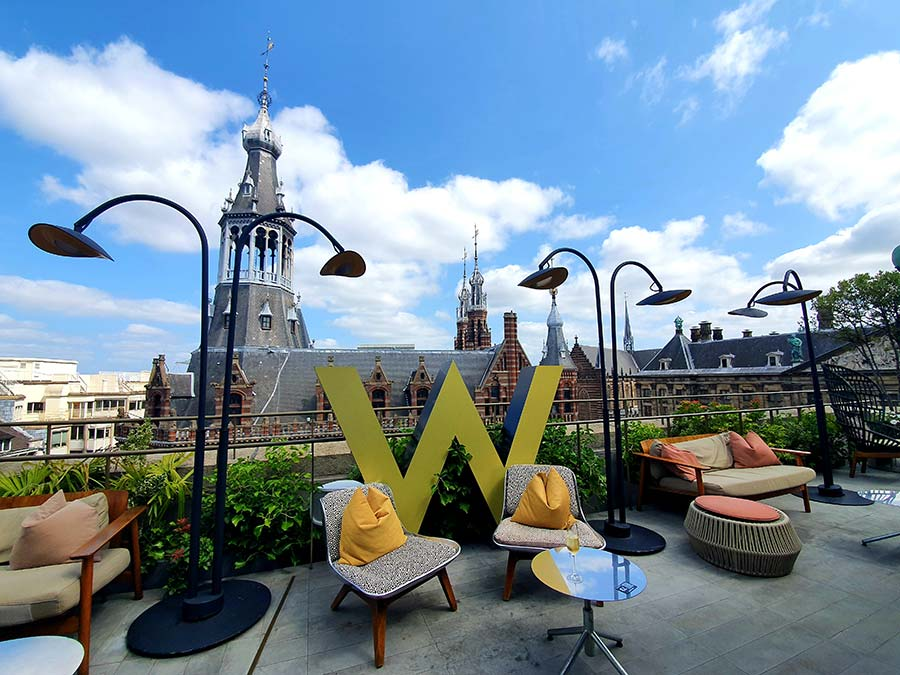 WExchange Amsterdam WLounge