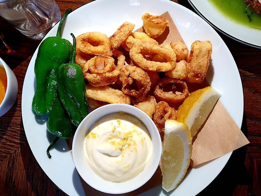 calamari fried
