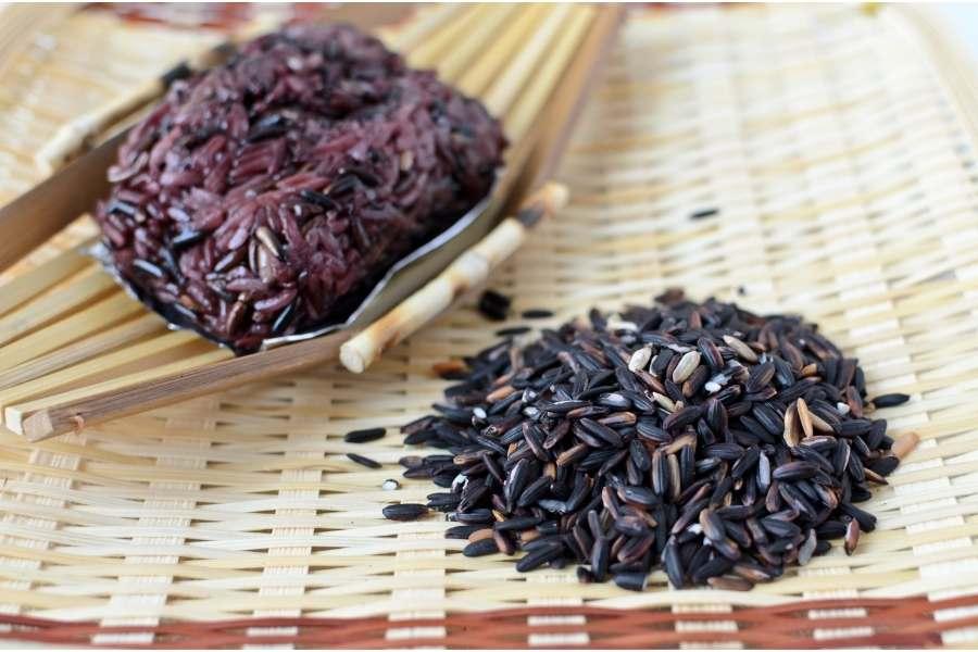 Black Sticky Rice Creams