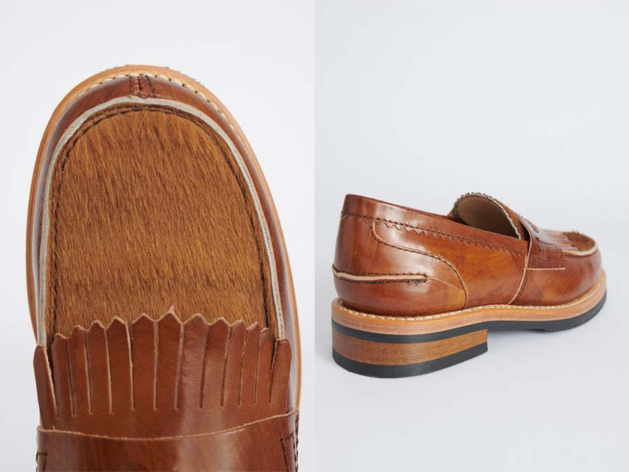 CLOUDY TAN LEATHER LOAFER OUR LEGACY