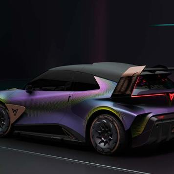 CUPRA UrbanRebel Concept Rebellious Urban Electric Car