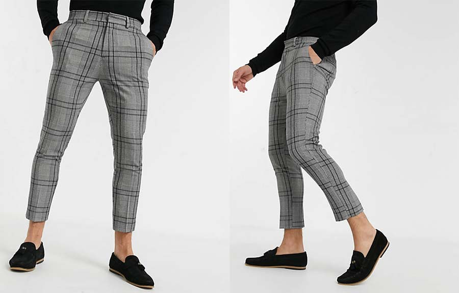 Cropped smart trousers Asos