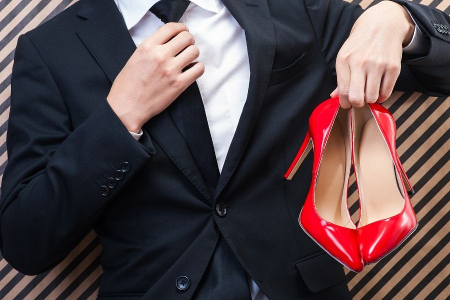 High Heels For Men - They Wore Them First